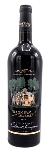 2016 Frank Family Cabernet Sauvignon Napa Valley 750ml