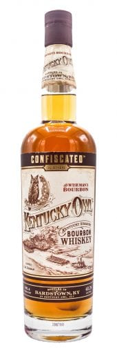 Kentucky Owl Bourbon Whiskey Confiscated 750ml
