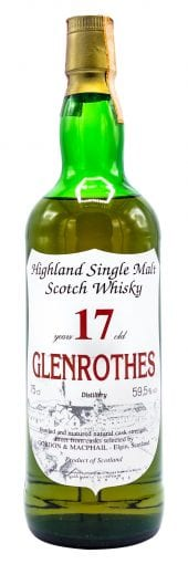 Gordon & MacPhail Single Malt Scotch Whisky Glenrothes, 17 Year Old 750ml