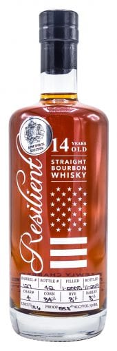 Resilient Straight Bourbon Whiskey Single Barrel #127 750ml
