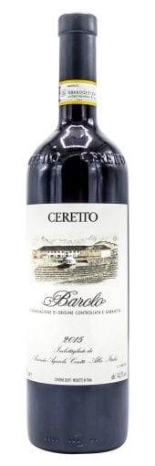 2015 Ceretto Barolo 750ml