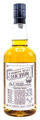 2019 Chichibu Single Malt Japanese Whisky Ichiro's Malt, The US Edition 750ml