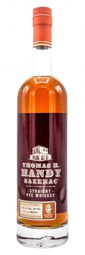 2009 Sazerac Rye Whiskey Thomas H. Handy 750ml