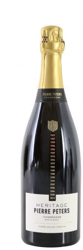mv Pierre Peters Champagne Heritage, Blanc de Blancs 750ml