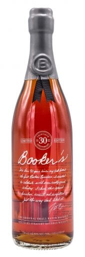 Booker's Bourbon Whiskey 30th Anniversary 750ml