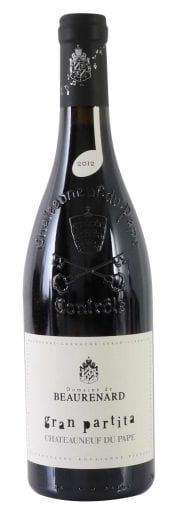 2012 Beaurenard Chateauneuf du Pape Gran Partita 750ml