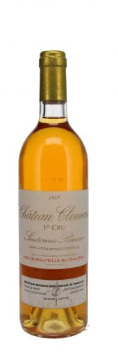 1988 Chateau Climens 750ml