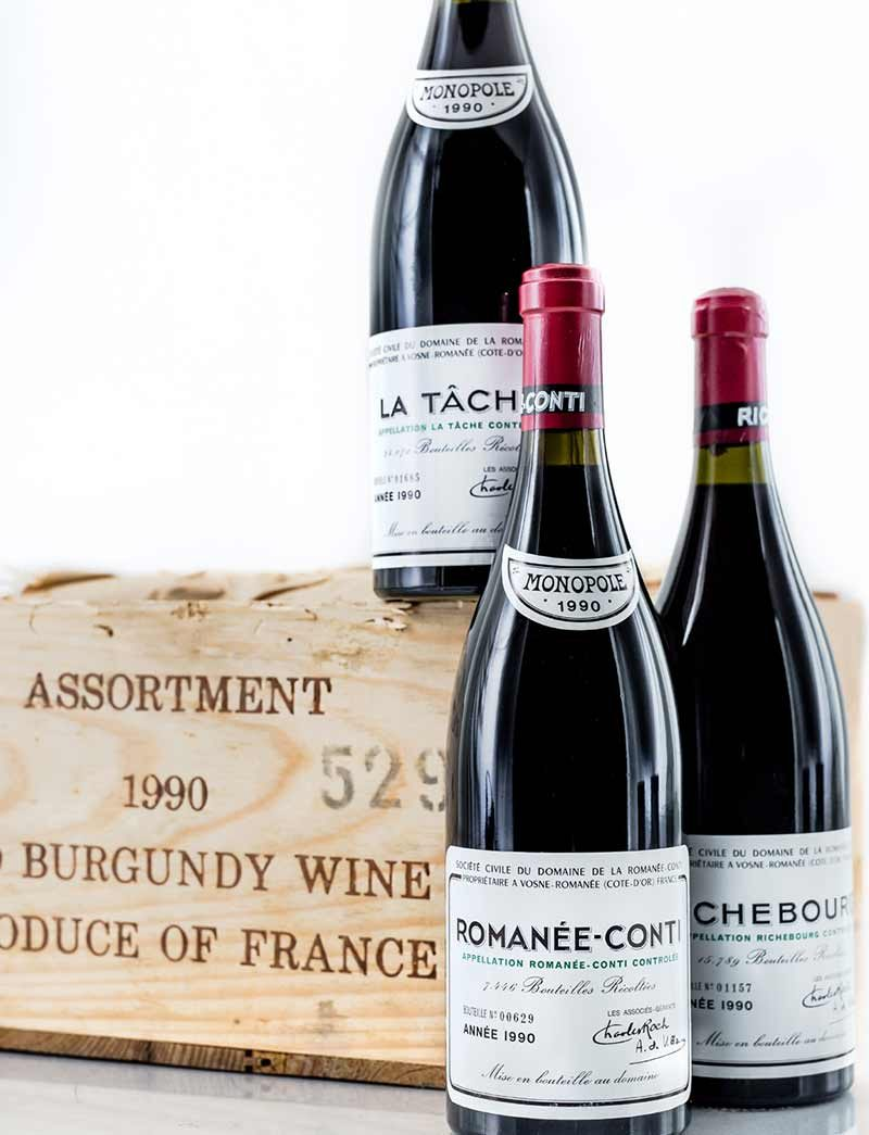Lot 570, 571: 10 bottles 1970 and 9 bottles 1975 Chateau Petrus in OWC