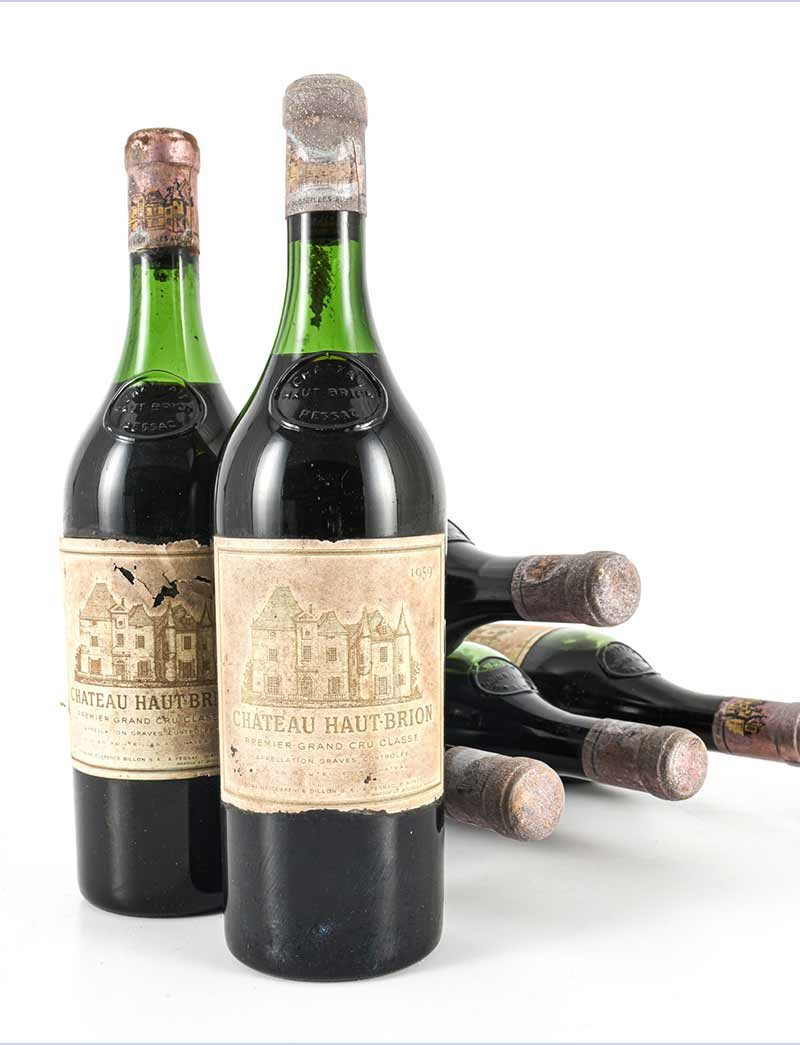 Lot 1085: 6 bottles 1959 Chateau Haut Brion