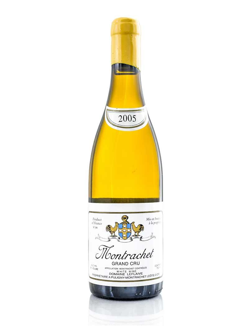 Lot 81: 1 bottle 2005 Domaine Leflaive Montrachet